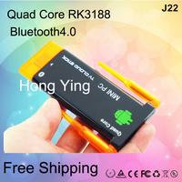 Hot sale! Mini PC J22 RK3188 Quad Core Android 4.2 Mini PC CX-919II 2GB+8GB Smart TV Box CX 919II Bluetooth Dual Antenna IPTV