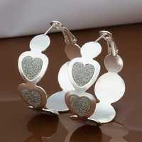 Free Shipping Wholesale 925 Sterling Silver Earring,925 Silver Fashion Jewelry,New Style Earrings SMTE478