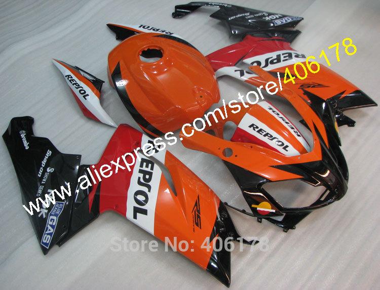 Hot Sales,Cheap Fairing For Aprilia RS125 RS 125 2007 2008 2009 2010 2011 07 08 09 10 11 Repsol Fairing set + Free Gifts(China (Mainland))