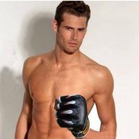 Training Black Sandbag Boxing Gloves Fight/TKD/Muay Thai Gear Punch Mitten Mitts