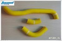 Free Shipping SUZUKI DRZ 400 DRZ400 DRZ400S DRZ400SM 2002-2011 Silicone Radiator Hose Kit Yellow MT-001