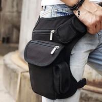 Multifunctional leg bag ride tactical waist pack outdoor casual bag man bag