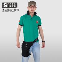 Outdoor multifunctional waist pack leg bag tactical bag casual bag outdoor male women's handbag