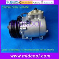 HIGH QUALITY VISTEON auto a/c compressor FOR FORD MANDEO