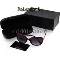 The new polarized glasses big stars UV 7210 brand designer polarized sunglasses for women
