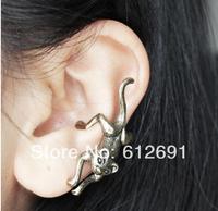 Cat ear cuffs vintage ear clips fashion earrings  earring for women girl charms jewelry LM-C033 2014 NEW