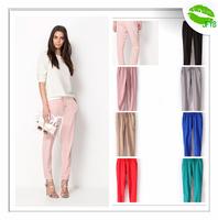 [JFYB] New 2014 Brand Chiffon Harem Pants Women Casual Loose Female Trousers Elastic Waist Ladies Spring Autumn Skinny Pants