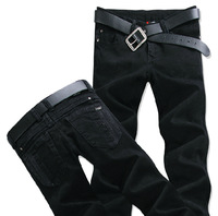 15 Spring Summer style Korean Slim / zipper men's jeans / fashion s casual cotton pants feet