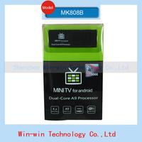 Original MK808 Bluetooth MK808B Mini PC RK3066 Dual Core Cortex-A9 1GB / 8GB Android 4.2.2 Google TV Dongle Stick MINI PC