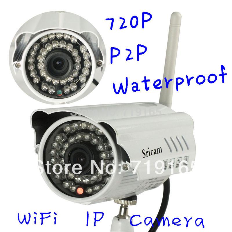 Камера наблюдения Sricam AP009 P2P 1,0 HD 6 IP Wifi P2P IP