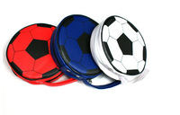 CD Bags  6pcs colorful Disc CD DVD Holder holding 24cds  and Protect Storage Carry football CD Cases CD package free shipping