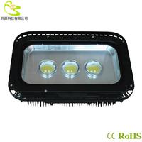 High quality cob 240W led flood light  AC85-265V 21600lm waterproof IP65 cob led tunnel light Outdoor Project Lamp 240w