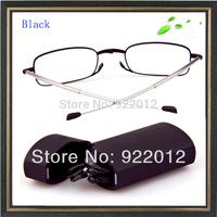 +150 power Fold reading glasses ultra-light glasses folding reading glasses free shipping reading glasses case reading glasses