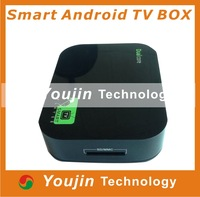 best selling quad core android 4.2 OS 1080P HD Smart Android TV Box,android 4.3 tv box