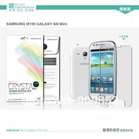 Original NILLKIN screen protector,Matte OR Super clear HD anti-fingerprint protective film for Samsung galaxy s3 mini i8190
