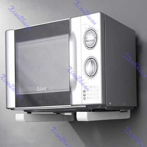 Compra soporte de estante de la pared online al por mayor - Estante para microondas ...