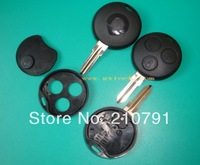 3 Buttons Remote Key Fob Case Shell for Smart Fortwo Forfour City Coupe Cabrio