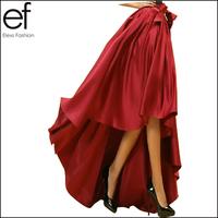 New 2014 European and American Style Elegant Skirt for Women Irregular Dovetail Evening Skirt Party Skirt SQ117