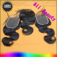 40% OFF Free Shipping 3.5x4 Body Wave Brazilian Virgin Hair Lace Closure Middle 3 Way Part Bleached Knots Queen Hair Top Closure
