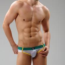Free Shipping!2014 New Wholesale Famous Brand Men's underwears Sexy Gauze Men Trunks SJ4006 Sexy Men's Briefs(China (Mainland))