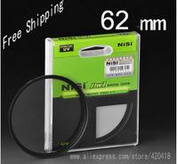 NiSi 62 mm Ultra Slim UV Digital SLR Camera Lens Ultra Violet Filter 62 mm Super Thin Protector