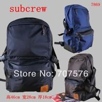 Double shoulder backpack high quality backpack male / female school bag new arrival