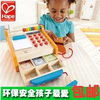 Hape cashier child toy set female child girl supermarket cash register