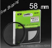 NiSi 58 mm Ultra Slim UV Digital SLR Camera Lens Ultra Violet Filter 58 mm Super Thin Protector