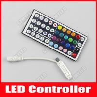 44Key DC 12V IR Remote Controller for SMD 3528 5050 RGB LED Strip Lightsrfvemote controller leddinner
