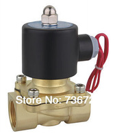 1/2'' Solenoid Valve water Brass 2 Way Valve Oil Gas Valves DC12V DC24V AC110V or AC220V