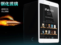 For tablet PC  Explosion-Proof Premium Tempered Glass Screen Protector for apple ipad mini 1 2 MOQ:10pcs/lot