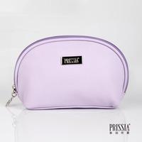 LZ bags Purple sheepskin dsmv liz women's cosmetic bag quality shell type clutch purse coin bag storage bag 11*16*7.5cm