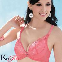 Konifen adjustable side gathering furu sexy push up bra 36022 cotton pad underwear bra