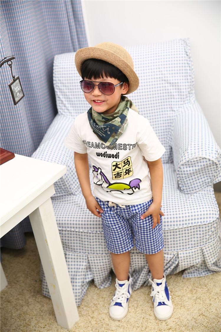 unisex girls boys kids 100% cotton short sleeve horse make best wish tshirts tees kids fashion t-shirts retail 1pcs KT094R(China (Mainland))