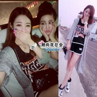 (Min order is $10) 3883 summer 2014 all-match sand quality long design cardigan