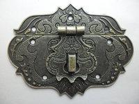 free shipping 10pcs 77 mm x 55mm vintage lock catch