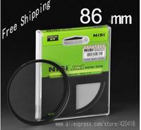 NiSi 86mm Ultra Slim UV Digital SLR Camera Lens Ultra Violet Filter 86mm Super Thin Protector