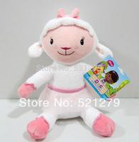 Free shipping 1pcs 30cm=11.8inch Doc McStuffins doll plush toys McStuffin Lambie sheep cute plush soft animals dolls for kids