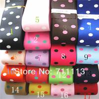 38mm 25m/lot Ribbon polyester tape Layers cloth tape hair accessories material DIY bowknot ribbon Handmade Hair free shipping
