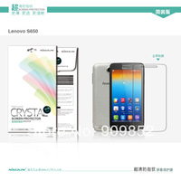 For lenovo S650 NILLKIN screen protector,Matte OR Super clear HD anti-fingerprint protective film For lenovo S650