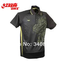 ORIGINAL DHS garment table tennis garment Qualilty Guarantee blouse pingpong dhsT-shirt 2 colors jersey sports uniform
