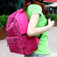 Free shipping Nylon   Women preppy style  school bag women's  travel bag  women backpack pupil backpacks high school bookbag
