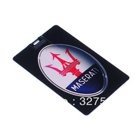 Compact Credit Card Style USB 2.0 Flash/Jump Drive--MASERATI