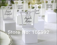 Wedding White Chair Candy Box Wedding Gift Box Wedding Favors100pcs/lot free shipping