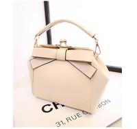 2014 Limited Real Women Solid Free Shipping Bags Fashion Women's Pattern Handbag Elegant Shoulder Bag Messenger 5 Colors B229