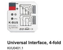 Knx / eib, 4 складки универсальный интерфейс, K can-bus