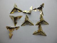 free shipping 100PCS 30mm golden metal box Corner  for jewelry Box