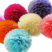 5pcs*12 inches Tissue Paper POMPOMS Flower Balls Home Decor  Festive & Party Supplies Wedding Favors