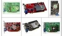Disassemble 256 512m 1g desktop second hand 220 gt240 pci-e graphics card