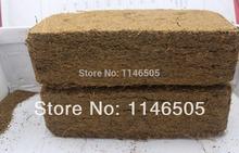 300gram Coconut brick culture medium nutrient standard coco peat brick coir brick balcony nutritious material for flower seeds(China (Mainland))